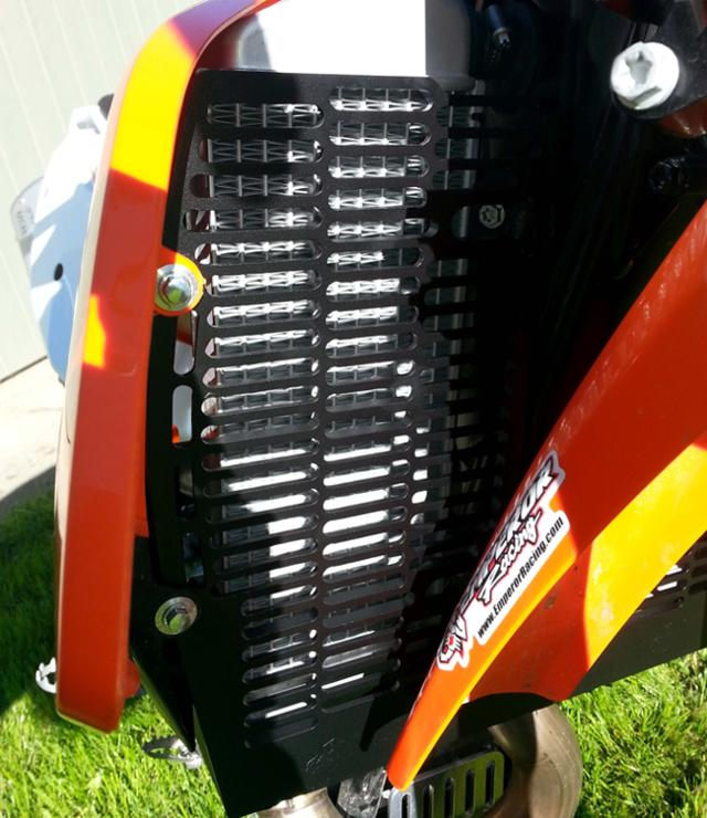 Billet Radiator Guard Ktm 2135 Emperor Racing