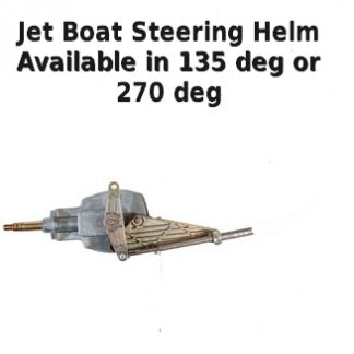 jet boat steering helm